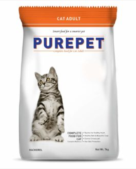 Drools Purepet Mackerel Adult Cat Food, 7 kg