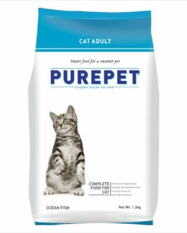 Drools Purepet Ocean Fish Adult Cat Food, 1.2 kg