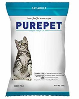 Drools Purepet Ocean Fish Adult Cat Food, 100 gm