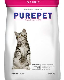 Drools Purepet Tuna and Salmon Adult Cat Food, 7 kg