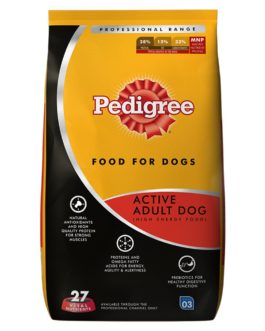 Pedigree Professional Active Adult Dog Food, 10 kg Pack