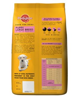 Pedigree Professional Puppy Large Breed Dog Food, 3 kg Pack